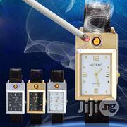 USB Rechargeable Lighter Watches Flameless Cigarette Lighter   Watches for sale in Lagos State, Ikeja