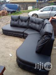 L-Shaped Leather Sofa | Furniture for sale in Abia State, Aba North
