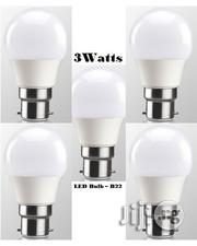 5pcs 3watt LED Energy Saving White Light Bulb - Pin Base (B22) | Home Accessories for sale in Lagos State, Ikeja