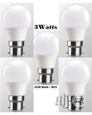 10pcs 3watt LED Energy Saving White Light Bulb - Pin Base (B22) | Home Accessories for sale in Lagos State, Ikeja