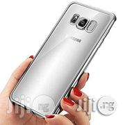 Samsung Galaxy S8+ Plus Soft Transparent Silicone Back Case   Accessories for Mobile Phones & Tablets for sale in Lagos State, Ikeja