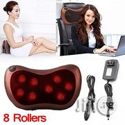 Massage Pillow Heating Cushion Neck Knead Back Shoulder | Massagers for sale in Lagos State, Surulere