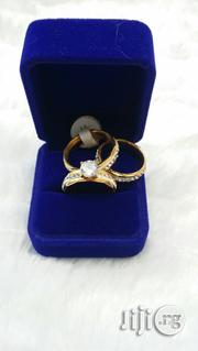 Beautiful Gold And Silver Wedding Stoned Wedding Ring | Wedding Wear for sale in Lagos State, Ajah