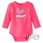 Coral LS Sweet Runs in the Family Bodysuit - 0/3mths, 6/9mths | Children's Clothing for sale in Lagos State, Surulere