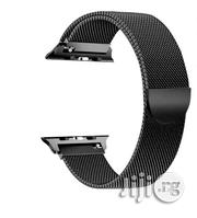 Apple Watch Band 42mm, Iwatch Bands 42mm For Apple Iwatch Series 1 2 3 Black.   Accessories for Mobile Phones & Tablets for sale in Lagos State, Shomolu