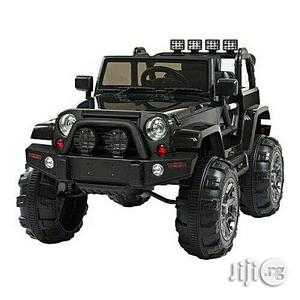 Jeep Wrangler Ride on Black Battery Car