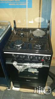 MIDEA Gas Cooker ( 3gas1electric -Burners ) | Kitchen Appliances for sale in Lagos State, Lekki Phase 1