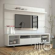 Classy TV Wall Unit With A Console And Drawers | Furniture for sale in Lagos State, Agege