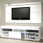 New Modern TV Wall Unit And Console | Furniture for sale in Lagos State, Agege