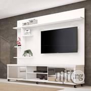 New Modern TV Wall Unit With A Console | Furniture for sale in Lagos State, Agege
