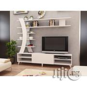 TV Console With X Shape Standing Shelves | Furniture for sale in Lagos State, Agege
