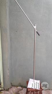 Microphone Stand Round Base Made With Galvanized And Stailess Pipe Is Very Strong. | Audio & Music Equipment for sale in Lagos State, Mushin