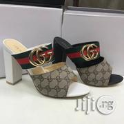 Block Heel Gucci Slippers | Shoes for sale in Lagos State, Ikoyi