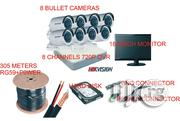 Hikvision 8channesl 720P Dvr, 8 Bullet Cameras + Kits | Security & Surveillance for sale in Lagos State, Ikeja