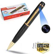 2.0mp 1080P Spy Pen Camera With Support For 64gb Sdcard | Security & Surveillance for sale in Lagos State, Ikeja