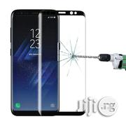 Galaxy S8 / G950 Full Tempered Glass Screen Protector (Black) | Accessories for Mobile Phones & Tablets for sale in Lagos State, Ikeja