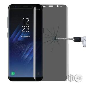 Galaxy S8+ / G955 0.3mm Full Tempered Glass Screen Protector (Black)