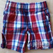 Circo Toddler Boys Electric Blue/Red Pull Up Plaid Shorts - 4Y | Children's Clothing for sale in Lagos State, Surulere