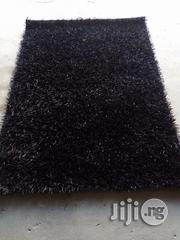 New High Quality 4by6 Plane Black Turkey Shaggy Center Rug | Home Accessories for sale in Lagos State, Agege