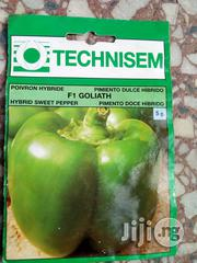 Goliath F1 Sweet Pepper (Green Pepper) Seeds For Sale | Feeds, Supplements & Seeds for sale in Delta State, Warri South-West