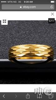 Titanium Steel Gold Plated Wedding Ring | Wedding Wear for sale in Rivers State, Port-Harcourt