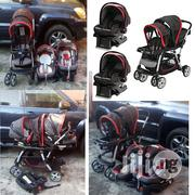Tokunbo UK Used Graco Double Stroller With Car Seat From Newborn And Above | Prams & Strollers for sale in Lagos State, Lekki Phase 1