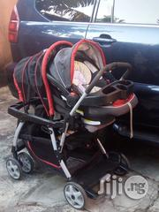 Tokunbo UK Used Graco Double Stroller With 1 Car Seat From Newborn And Above | Prams & Strollers for sale in Lagos State, Lekki Phase 1