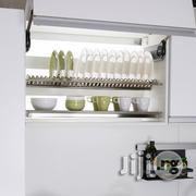 Wall Kitchen Cabinet, Stainlesss 18\10 Dish Rack 2 And 3step. | Kitchen & Dining for sale in Lagos State, Lagos Mainland