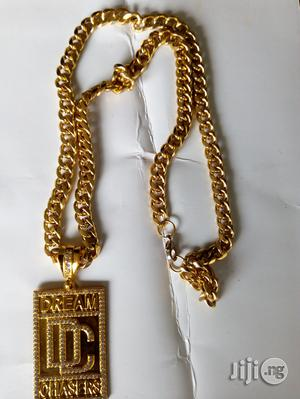 Gold Chain With Pendants