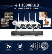 4channel Wireless CCTV System With 4ch Nvr IP Outdoor CCTV | Security & Surveillance for sale in Lagos State, Lekki Phase 1