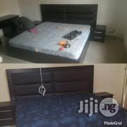 Bed, Leather Headboard With Two Sides.   Furniture for sale in Oyo State, Ibadan South West