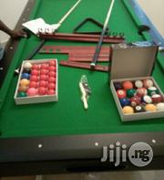 Snooker Board With Acessories | Sports Equipment for sale in Akwa Ibom State, Uyo