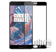 Full Cover Tempered Glass For Oneplus 3 - Black | Accessories for Mobile Phones & Tablets for sale in Lagos State, Ajah