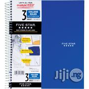 Five Star 3 Subjects College Ruled Notebook - 150 Sheets | Stationery for sale in Lagos State, Surulere