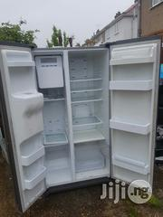 Samsung Fridge Side By Side Double Doors With Dispenser | Kitchen Appliances for sale in Lagos State, Ojo