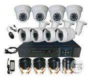 Winpossee 8 Channels 5-in-1 DVR And 8 Cameras Kit Complete | TV & DVD Equipment for sale in Lagos State, Ikeja