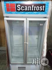 Scanfrost Double Door Transparent Glass Chiller With Two Years Wrnty. | Store Equipment for sale in Lagos State, Ojo
