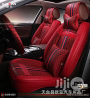 New Red Gucci 5D Cushion Car Seat Cover | Vehicle Parts & Accessories for sale in Lagos State, Ikeja
