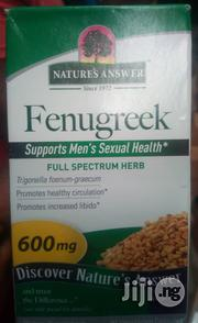 Nature's Answer, Fenugreek, 600 Mg, 90 Vegetarian Capsules   Vitamins & Supplements for sale in Lagos State, Surulere