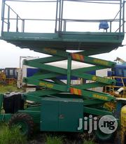 Grive Scissors Lift Tokunbo | Heavy Equipments for sale in Lagos State, Apapa