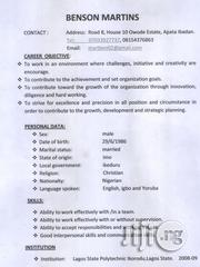 Personal Assistance | Farming & Veterinary CVs for sale in Oyo State, Ibadan
