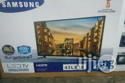 SAMSUNG Led Tv 43 Inches With 2 Years Warranty Made In Korea | TV & DVD Equipment for sale in Lagos State, Ojo