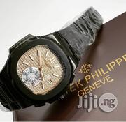 PATEK PHILIPPE Black Crystal Chain Ice Inside Watch   Watches for sale in Lagos State, Surulere