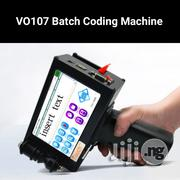 VO107 Digital Hand Held Smart Batch Coding & Expiry Date Printer | Printing Equipment for sale in Lagos State, Lagos Mainland