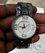 Police Men's Stainless Steel Watch - Silver | Watches for sale in Lagos State, Ikeja