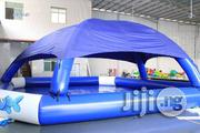 Unique 30feet by 18feet Inflatable Swimming Pool With Pump | Sports Equipment for sale in Lagos State, Lagos Mainland