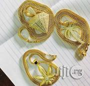 18carat Gold Rope Chain and Pendant | Jewelry for sale in Lagos State, Yaba