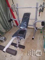Weight Lifting Bench With 50kg | Sports Equipment for sale in Abuja (FCT) State, Garki 1