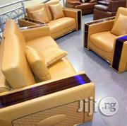 Real Italian 7 Seatets Leather Sofa Chair, Dse2 | Furniture for sale in Lagos State, Ikoyi