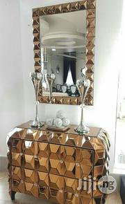 Golden Console Mirror | Home Accessories for sale in Lagos State, Ikoyi